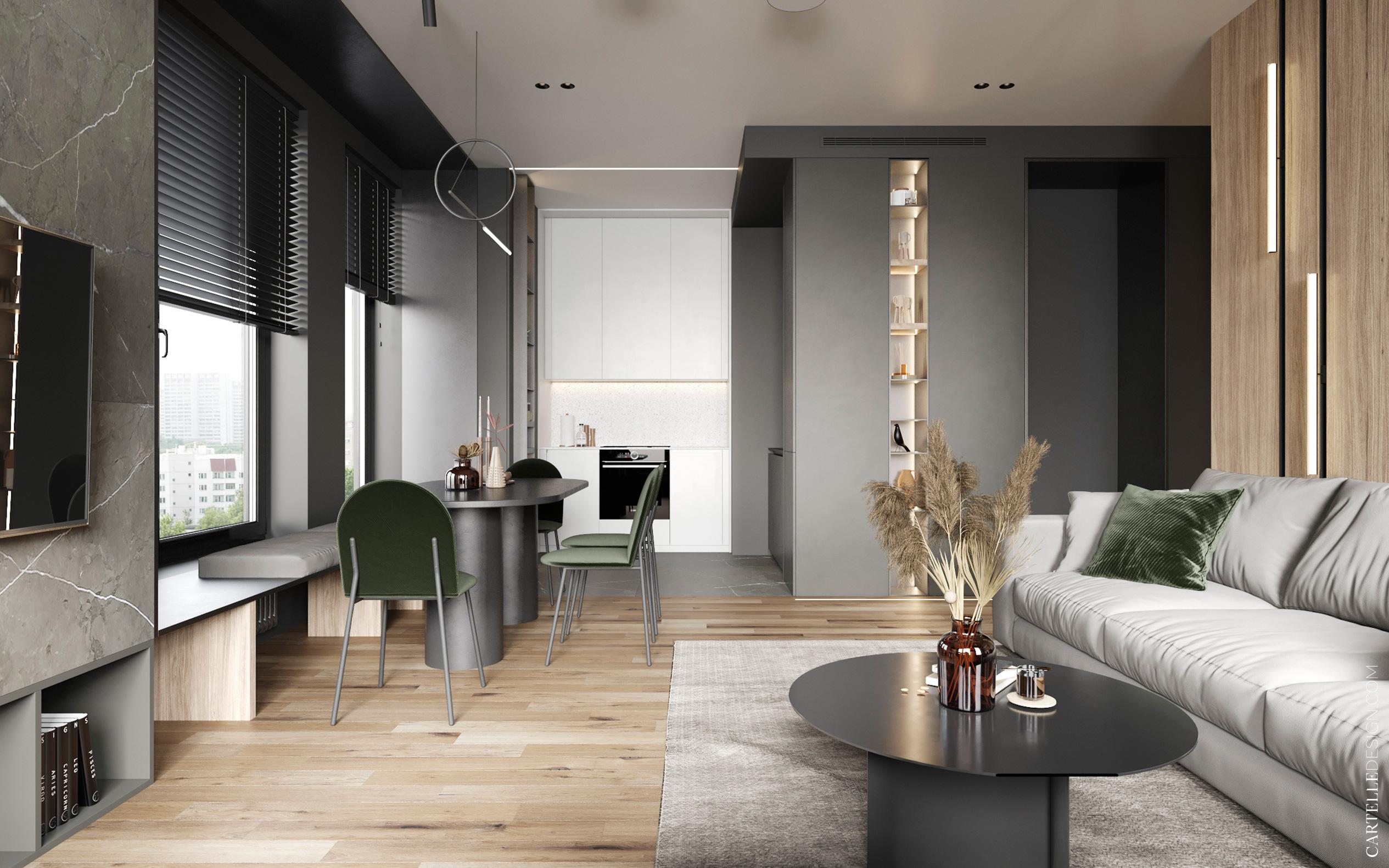 Modern minimál stílusú lakás, minimál otthon, minimál lakás, minimál stílus, minimál design, minimál dizájn, minimalizmus, minimalista, lakberendezés, belsőépítészet, lakberendezési ötletek, lámpa, világítás, LED